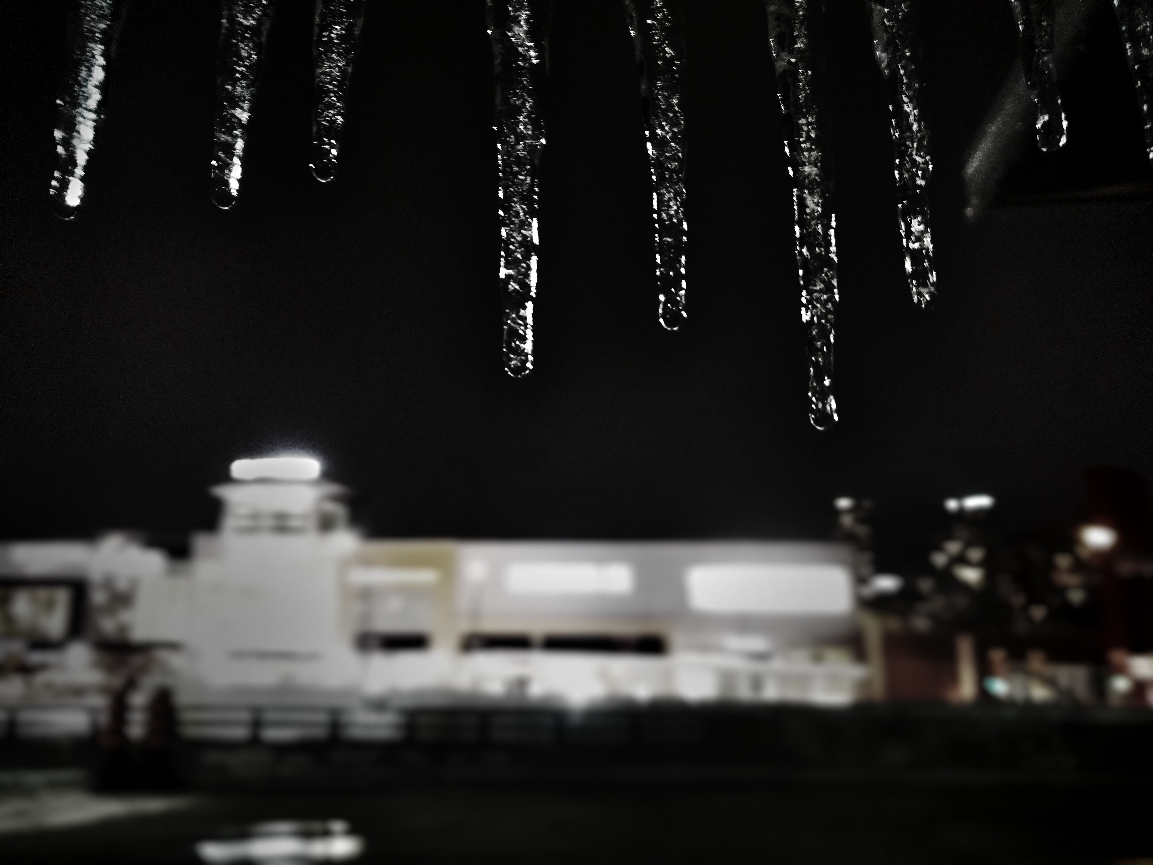 Icicles at Sqaure One